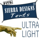 Sierra Designs Flashlight 1 + Flashlight 1 FL Footprint Compatible Ultralight